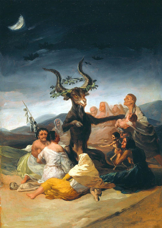 Goya - Il grande caprone - Sabba 1797-1798