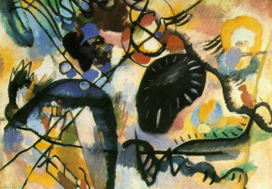Macchia nera I - Black Spot - Kandinsky - 1912