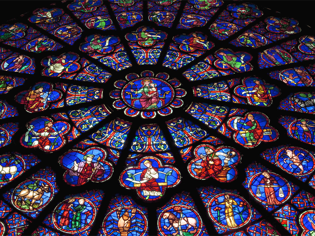 Notre Dame - rosone interno