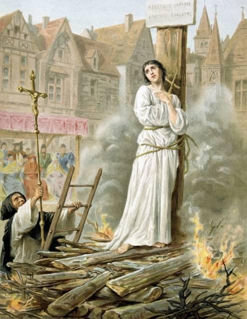 Giovanna d'Arco sul rogo