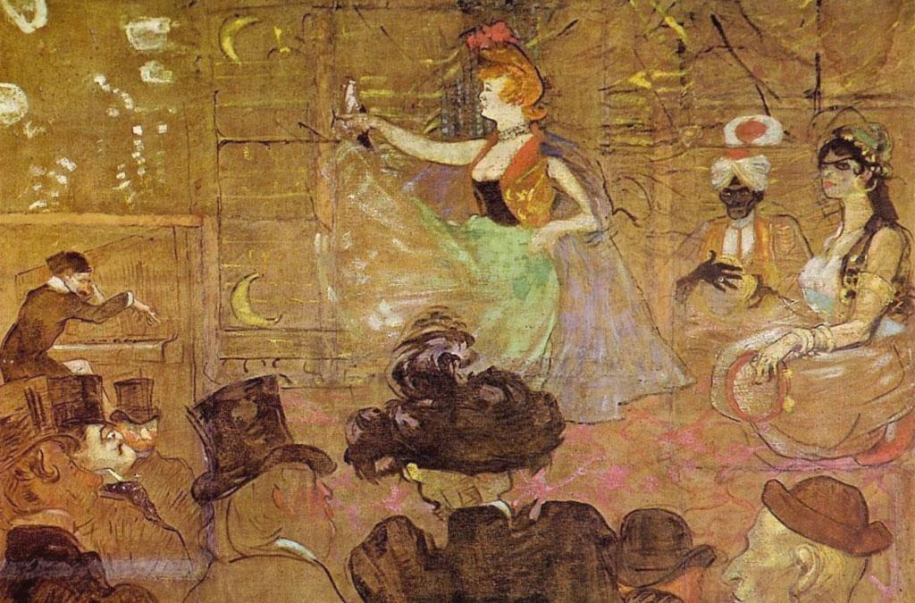 La danza moresca - La danse mauresque - quadro opera picture