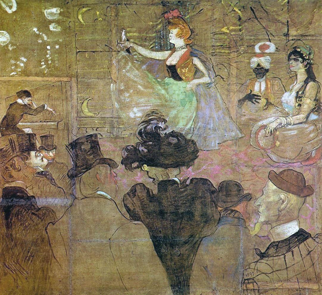 La danza moresca - Toulouse-Lautrec - 1895