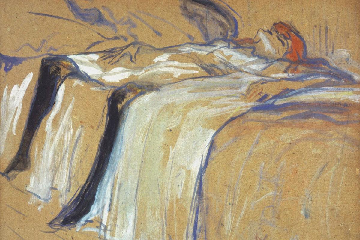 Sola - Seule - quadro - Toulouse Lautrec - 1896