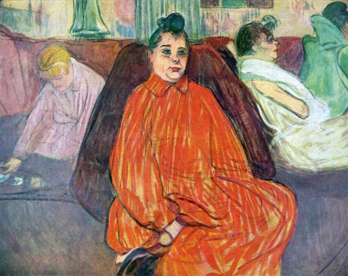 Il divano - The Divan - Toulouse Lautrec