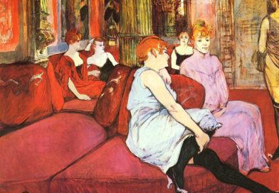 Al Salon de la rue des Moulins - Toulouse Lautrec