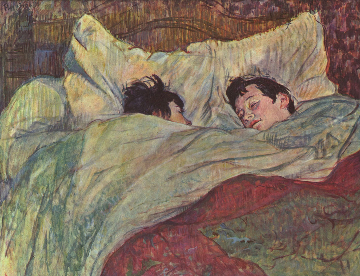Dans le Lit - A letto