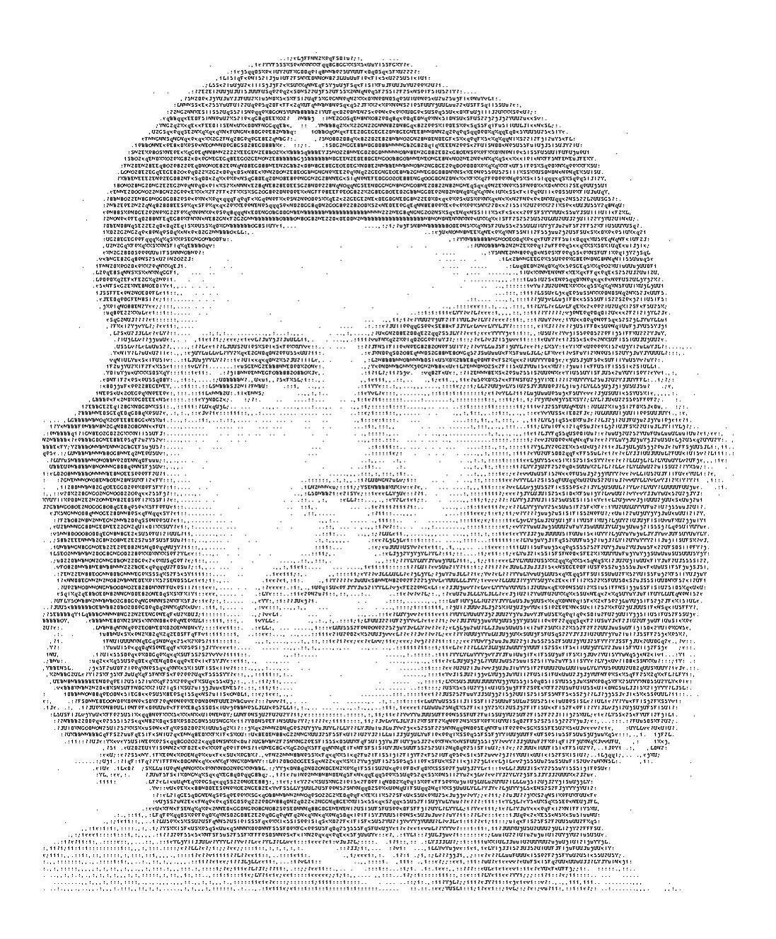 ASCII Art Che Guevara