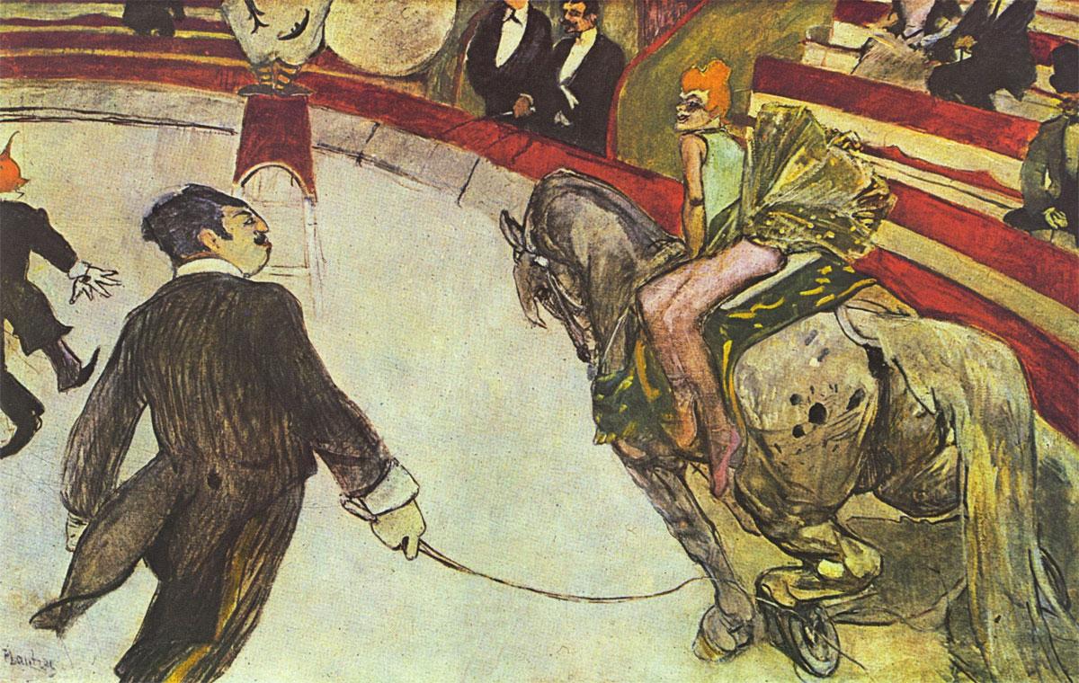 Al circo Fernando - quadro Toulouse-Lautrec