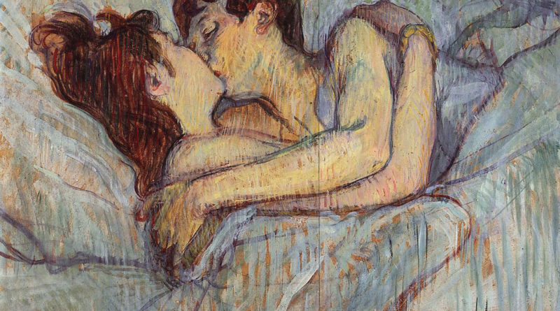 Il bacio a letto - quadro - picture - Henri Toulouse Lautrec - In bed the kiss