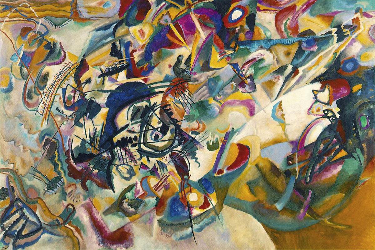 Composizione VII, opera di Kandinsky