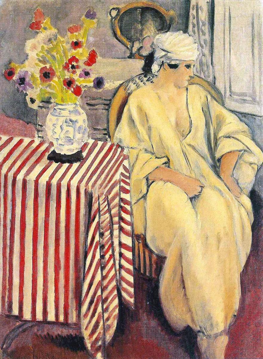 Meditazione dopo il bagno - Méditation après le bain - Meditation after the bath - Matisse 1920-1921
