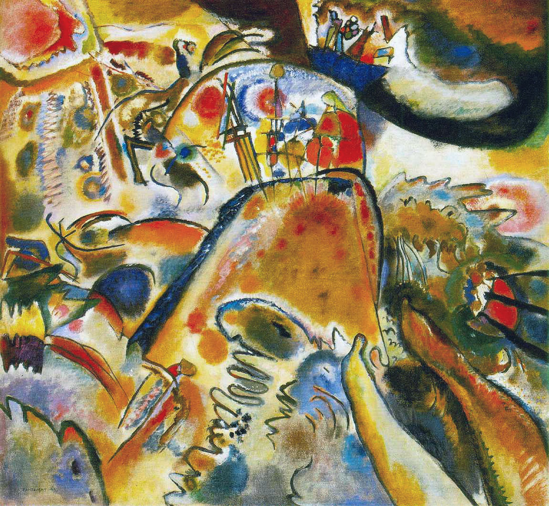 Piccole gioie - Kandinsky - Small Pleasures - Kleine Freuden - 1913