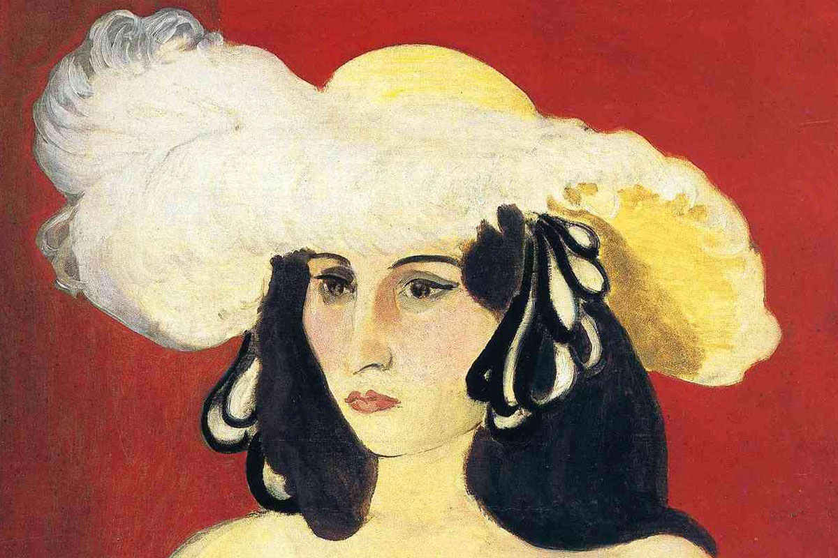 Piume bianche - quadro Matisse - picture - White Plumes