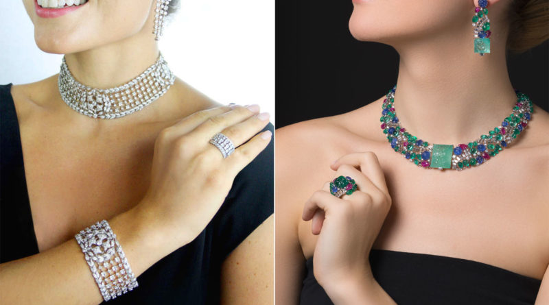 parure - collier - differenze