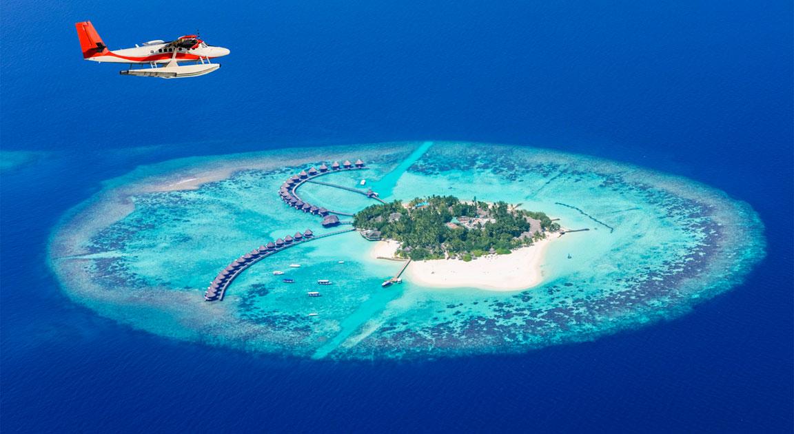 atollo maldive isola