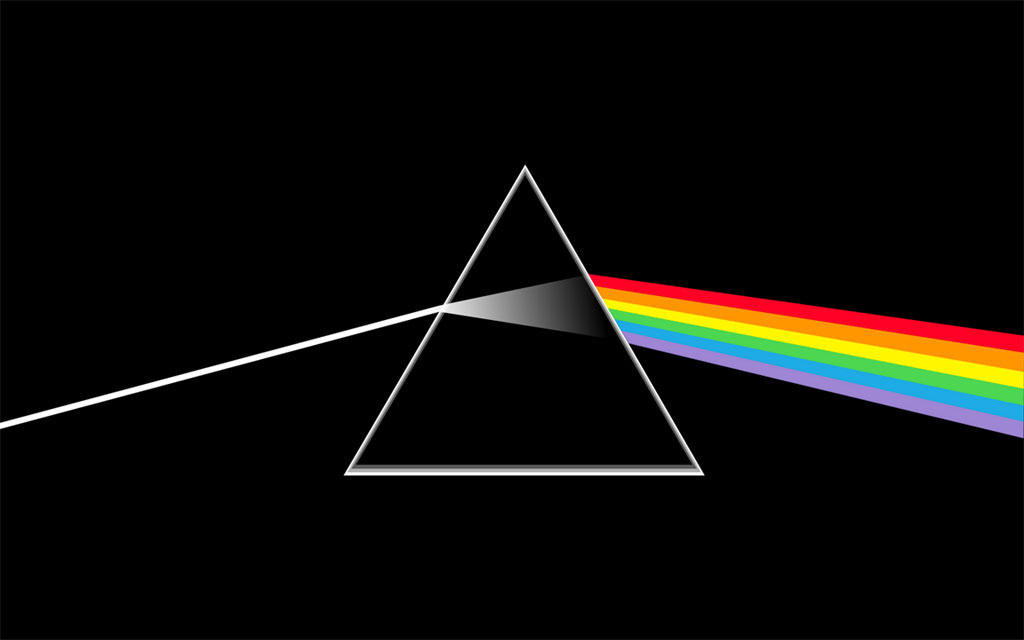 Artwork - The dark side of the Moon -disco
