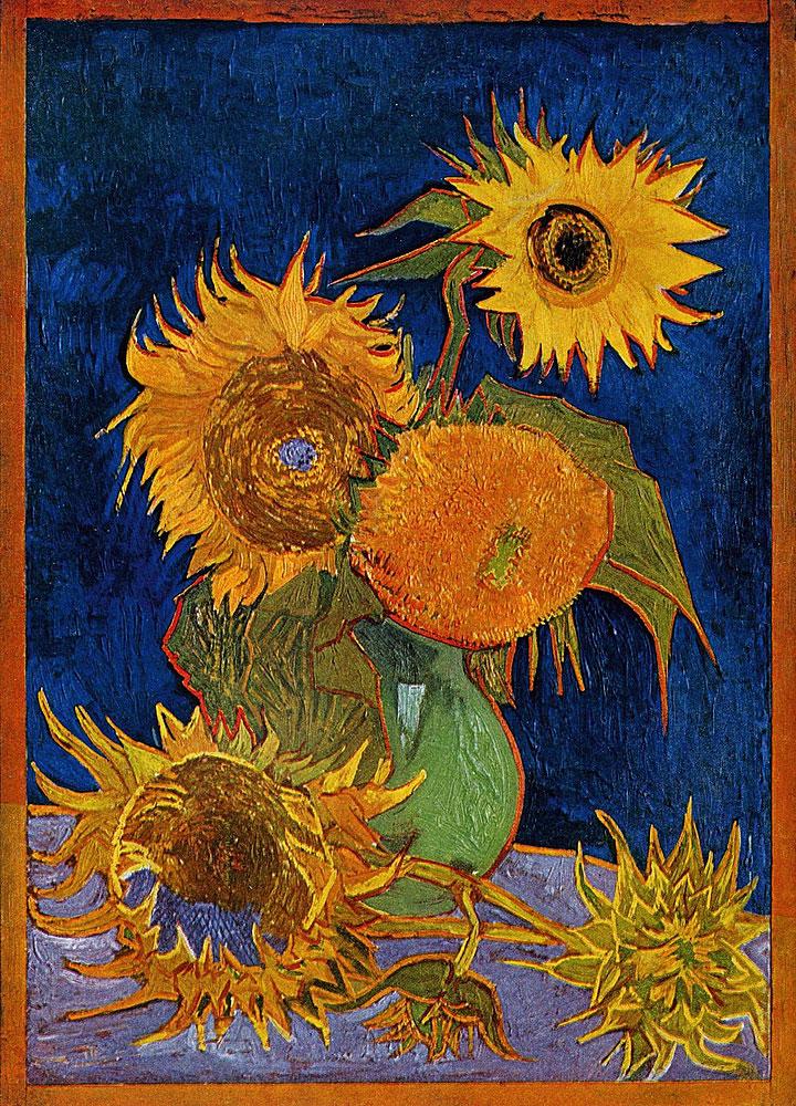 Matrimonio Girasoli Van Gogh : Girasoli van gogh