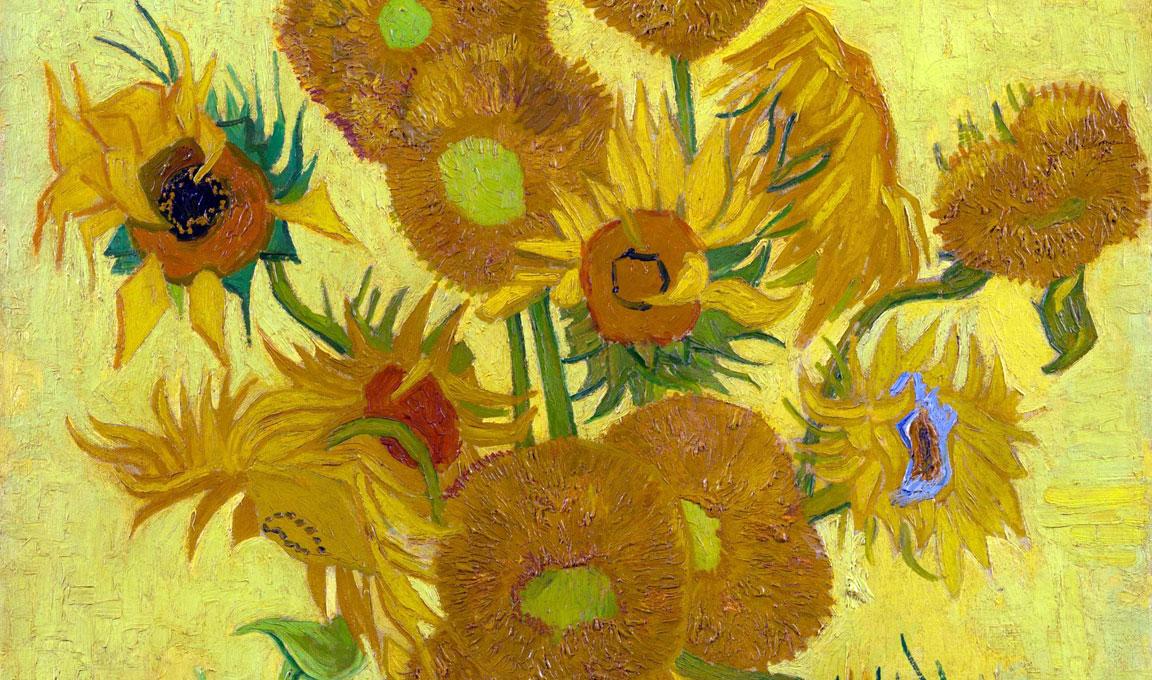 Mazzo Di Fiori Van Gogh.Girasoli Di Vincent Van Gogh