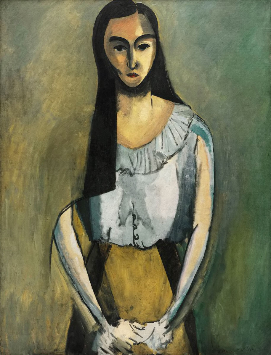 Italiana - The Italian Woman - Italienne - Matisse - 1916