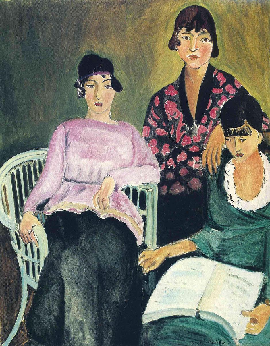 Le tre sorelle - Les Trois Soeurs - The Three sisters - 1917 - Matisse