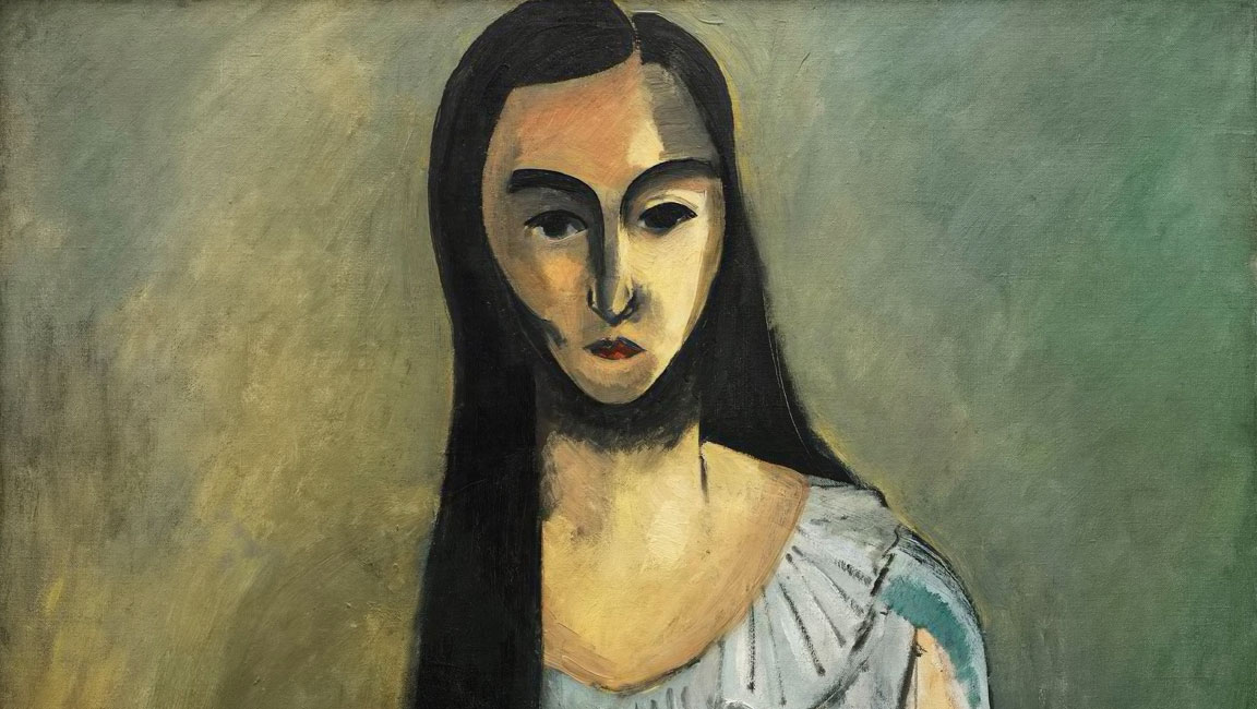 Volto - Italiana - Italienne - Matisse - 1916