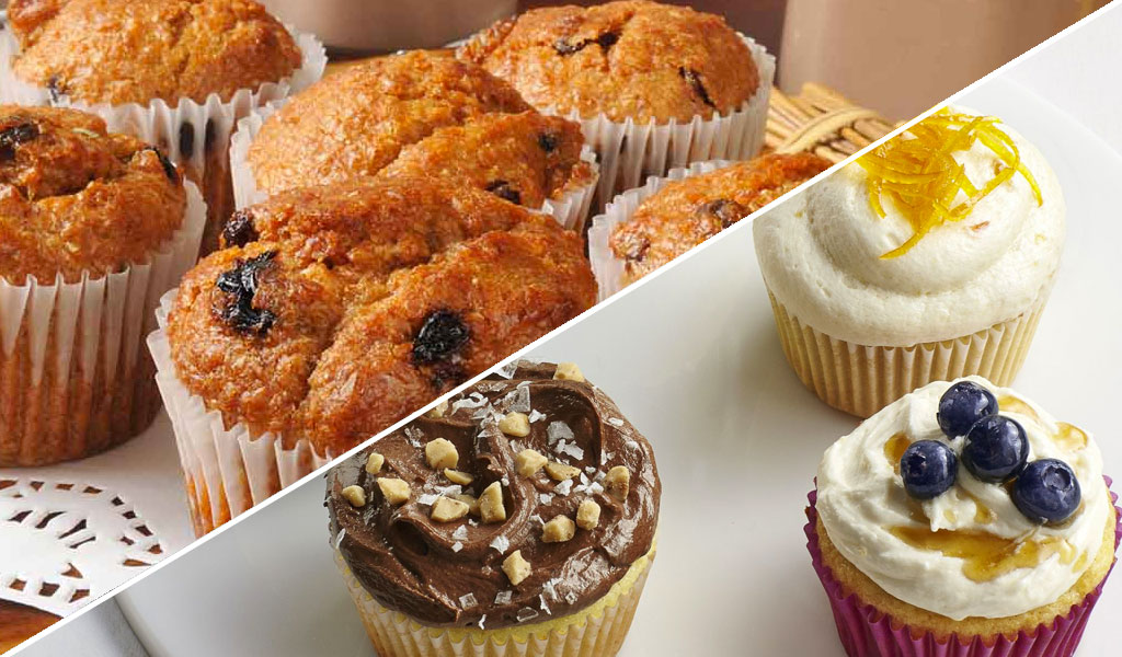 muffin cupcake differenze differences