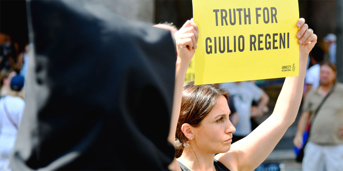 Truth for Giulio Regeni