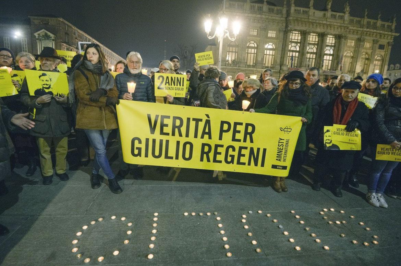 manifestazione per Giulio Regeni