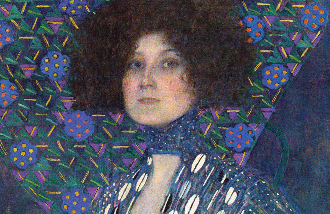 Emilie Flöge - Ritratto - Klimt