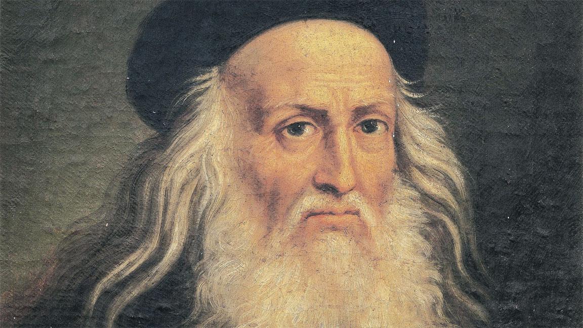 Leonardo da Vinci portrait volto viso faccia