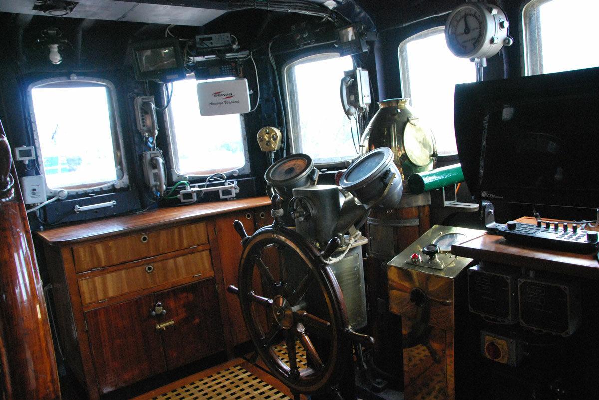 Nave Amerigo Vespucci: Una foto degli interni