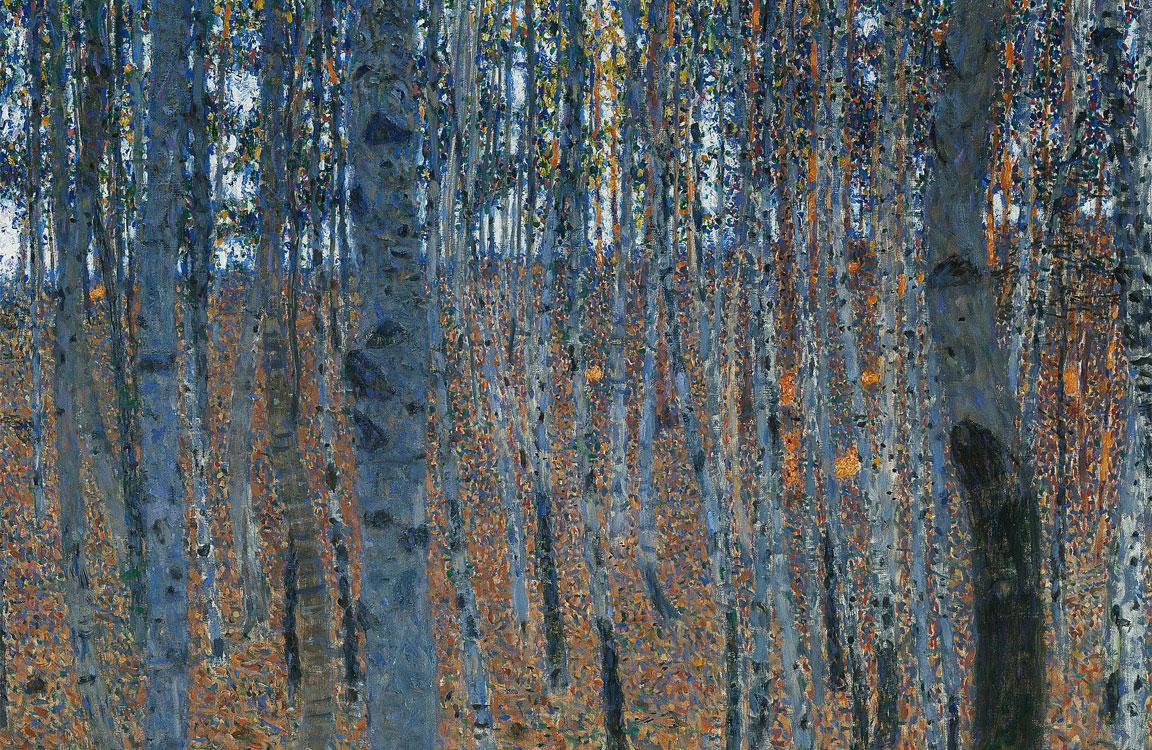 Quadro - Picture - Klimt - Faggeto I - Beech Forest I - dettaglio - detail