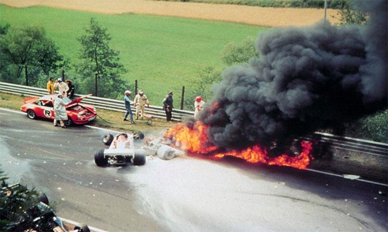 1 agosto 1976 - Lo spaventoso incidente di Niki Lauda