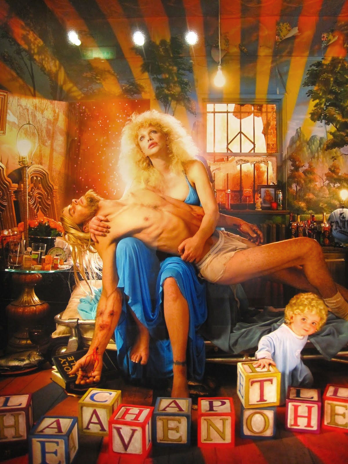 Pietà - David LaChapelle (Heaven to Hell)