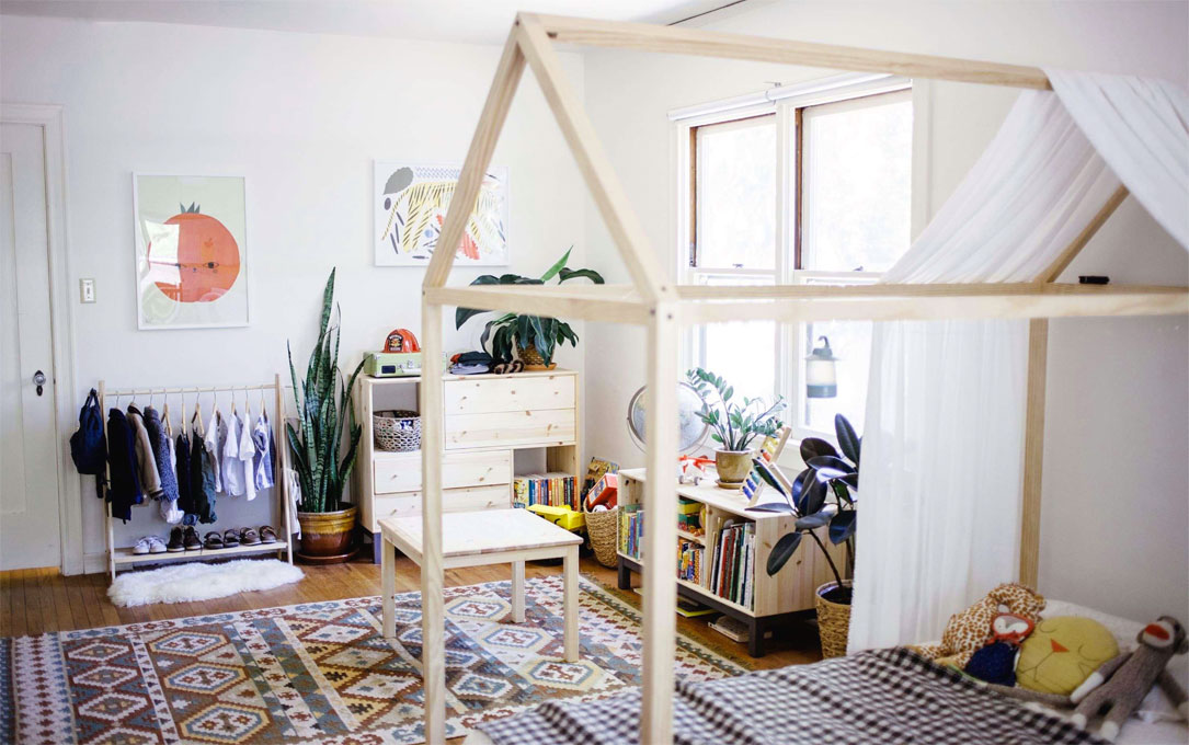 metodo Montessori - Stanza Montessori - Cameretta - Montessori bedroom
