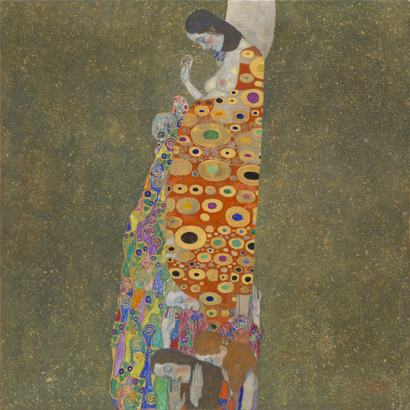 Speranza II - Hope 2 - Klimt - Quadro - Picture