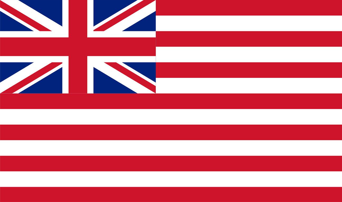 Bandiera della Compagnia britannica delle Indie orientali