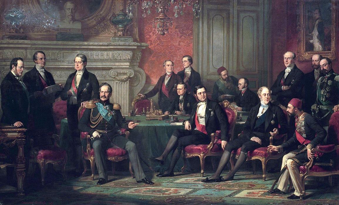 Congresso di Parigi - Trattato di Parigi 1856