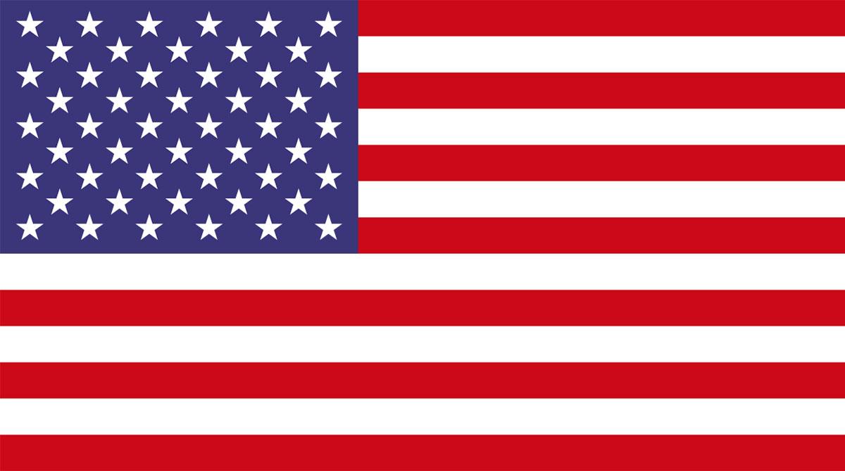 Flag USA Bandiera Americana Stars and Stripes