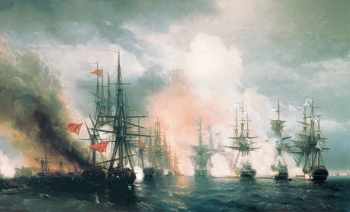 Guerra di Crimea - Battaglia di Sinope - 30 novembre 1853