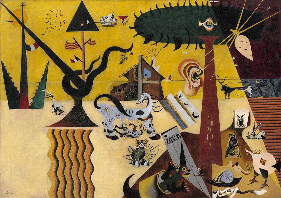 Terra Arata Campo arato - Joan Miró