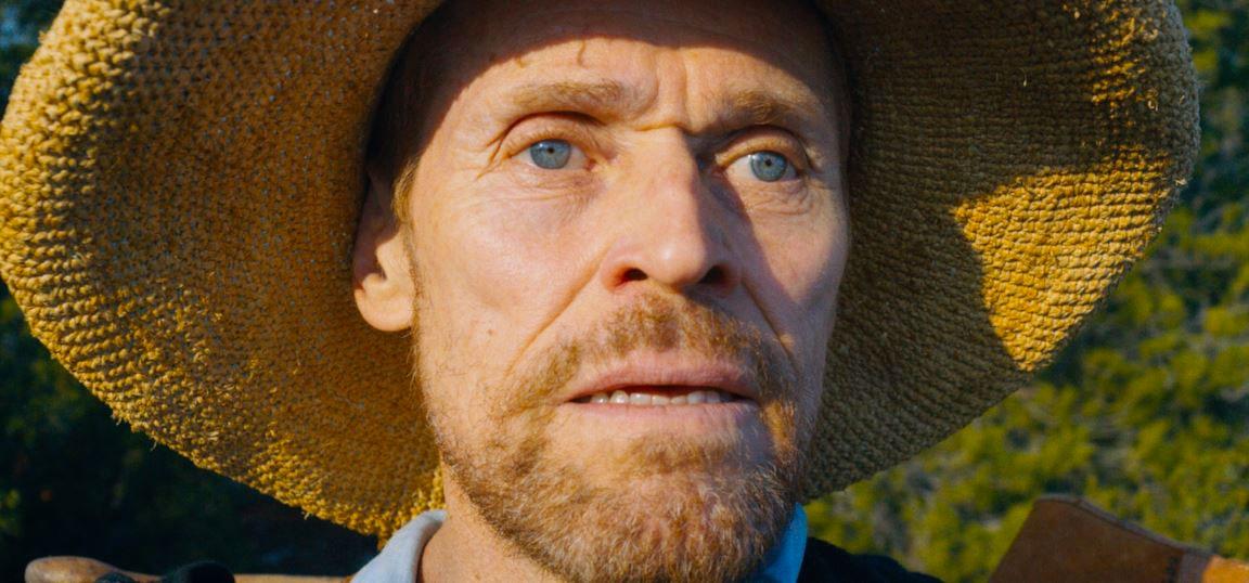 L'attore Willem Dafoe nei panni di Van Gogh