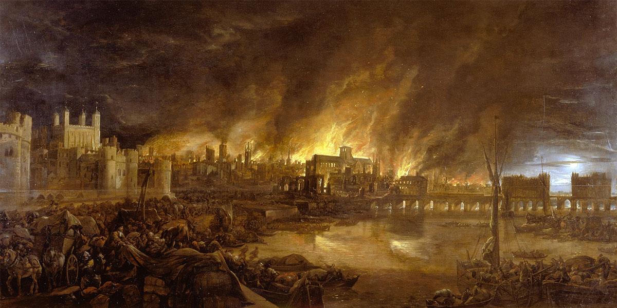 Grande incendio di Londra 1666