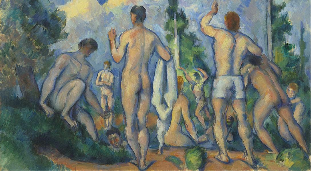 Bagnanti Paul Cézanne
