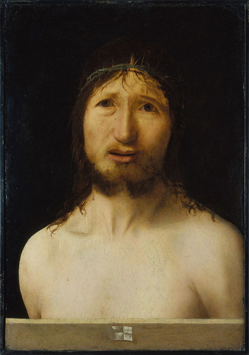 Ecce Homo, Antonello da Messina, 1470