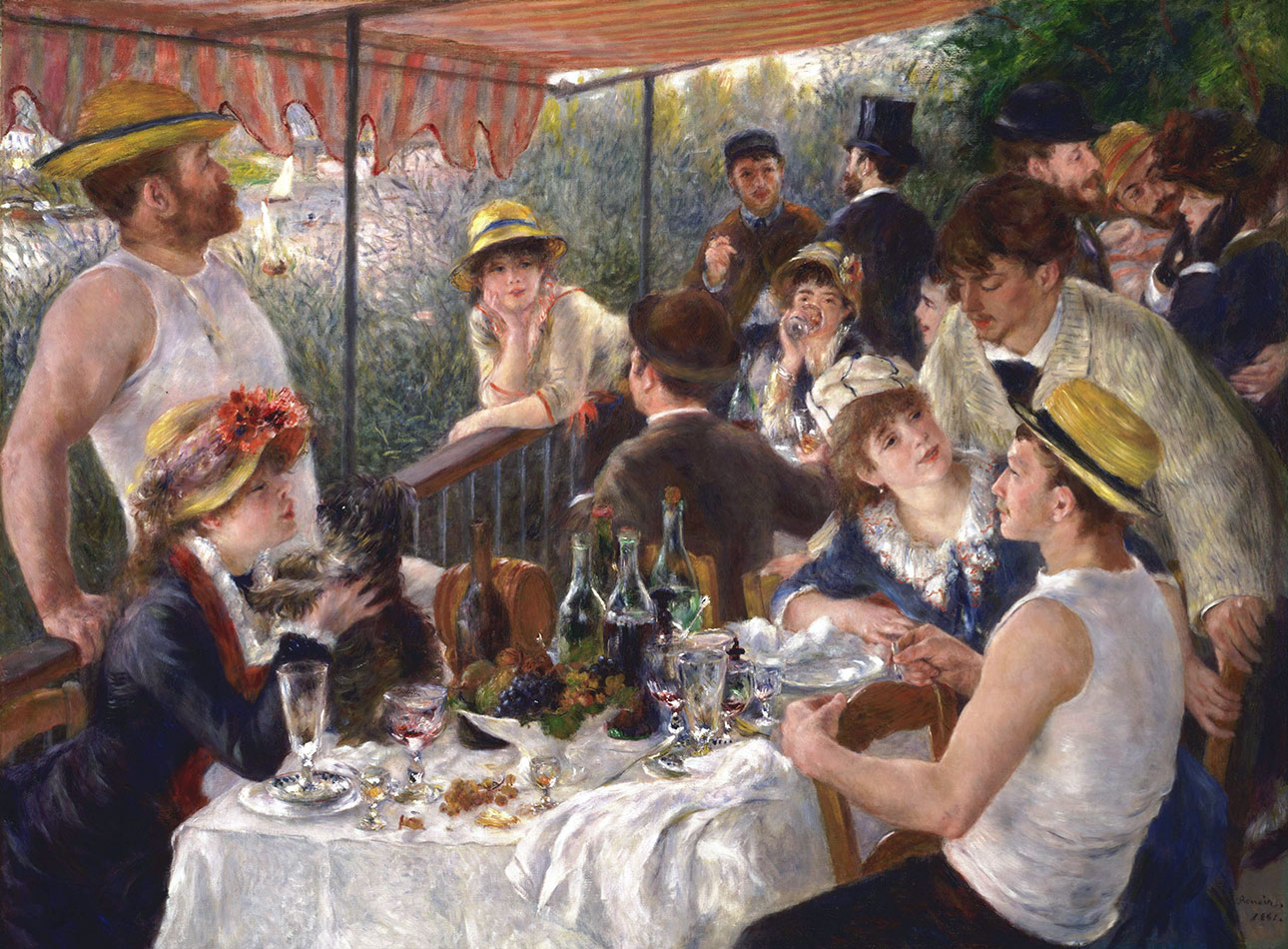 La colazione dei canottieri - Le déjeuner des canotiers - Luncheon of the Boating Party