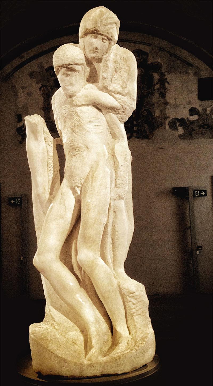 Pietà Rondanini Michelangelo Buonarroti