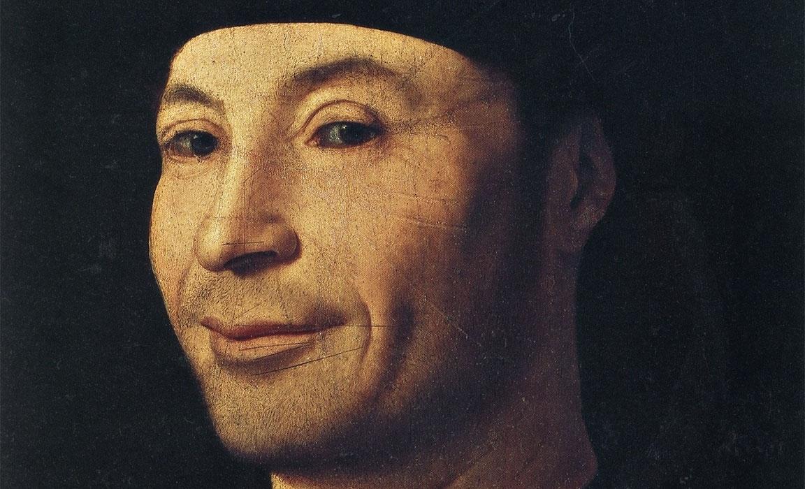 Ritratto d'uomo (Ritratto d'ignoto marinaio) – Antonello da Messina