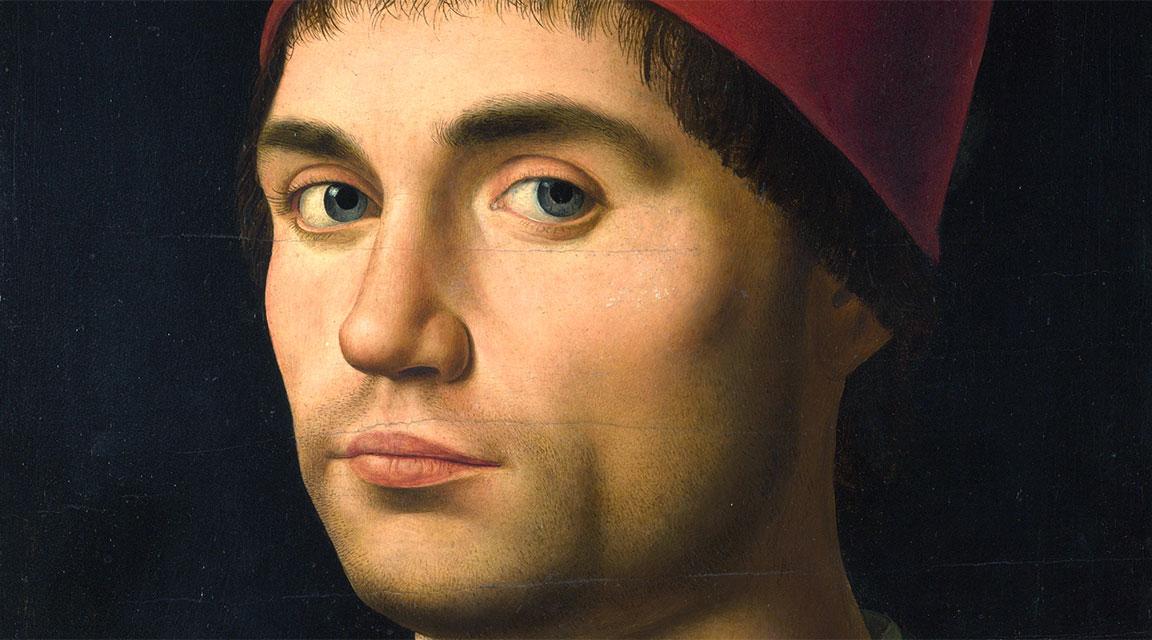 Antonello da Messina ritratto di giovane o autoritratto
