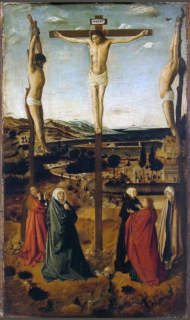 Crocifissione di Sibiu Antonello da Messina Romania